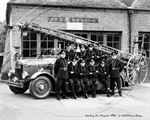 Picture of Berks - Newbury, Fire Brigade c1950s - N1460