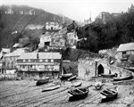Picture of Devon - Clovelly, from the Quay c1900s - N1618