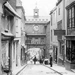 Picture of Devon - Totnes, Eastgate c1890s - N1925
