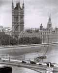 Picture of London - Houses of Parliament over Lambeth Bridge c1930s - N144