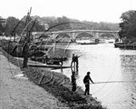 Picture of Surrey - Richmond, Bridge c1890s - N1352