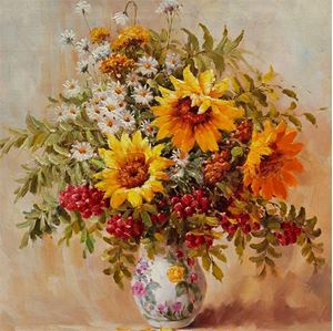 Picture of Flowers - Bunches - Multi-Flowers Bunch - O024