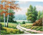 Picture of Landscapes - Country Path Scene - O039